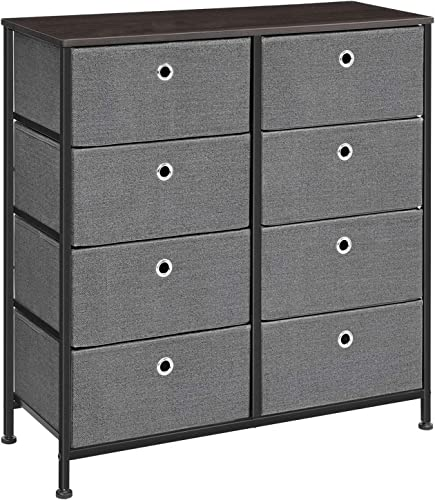 SONGMICS 4-Tier Wide Drawer Dresser