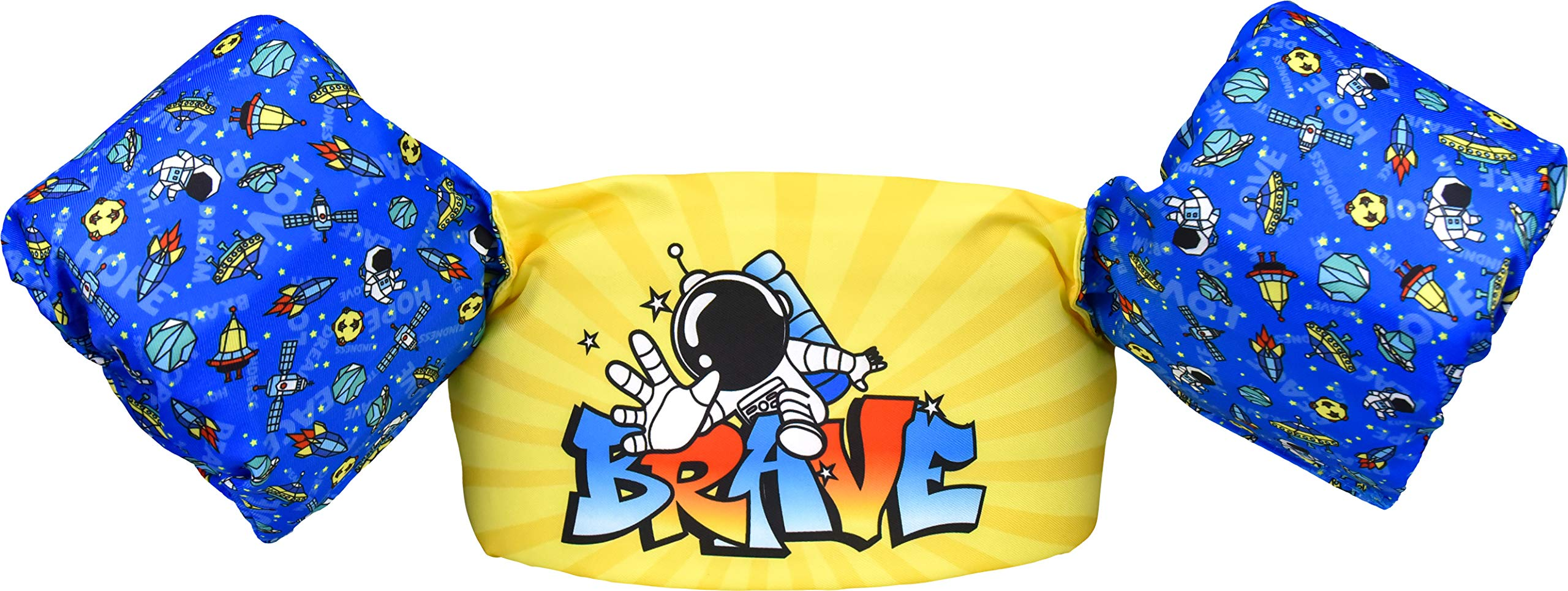 Blue Mars Kids Swim Vests, Floaties for Toddler Girls and Boys from 20 to 50 pounds.