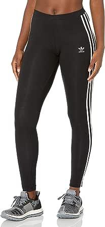 adidas Originals Women's 3-Stripes Leggings, Black, XS