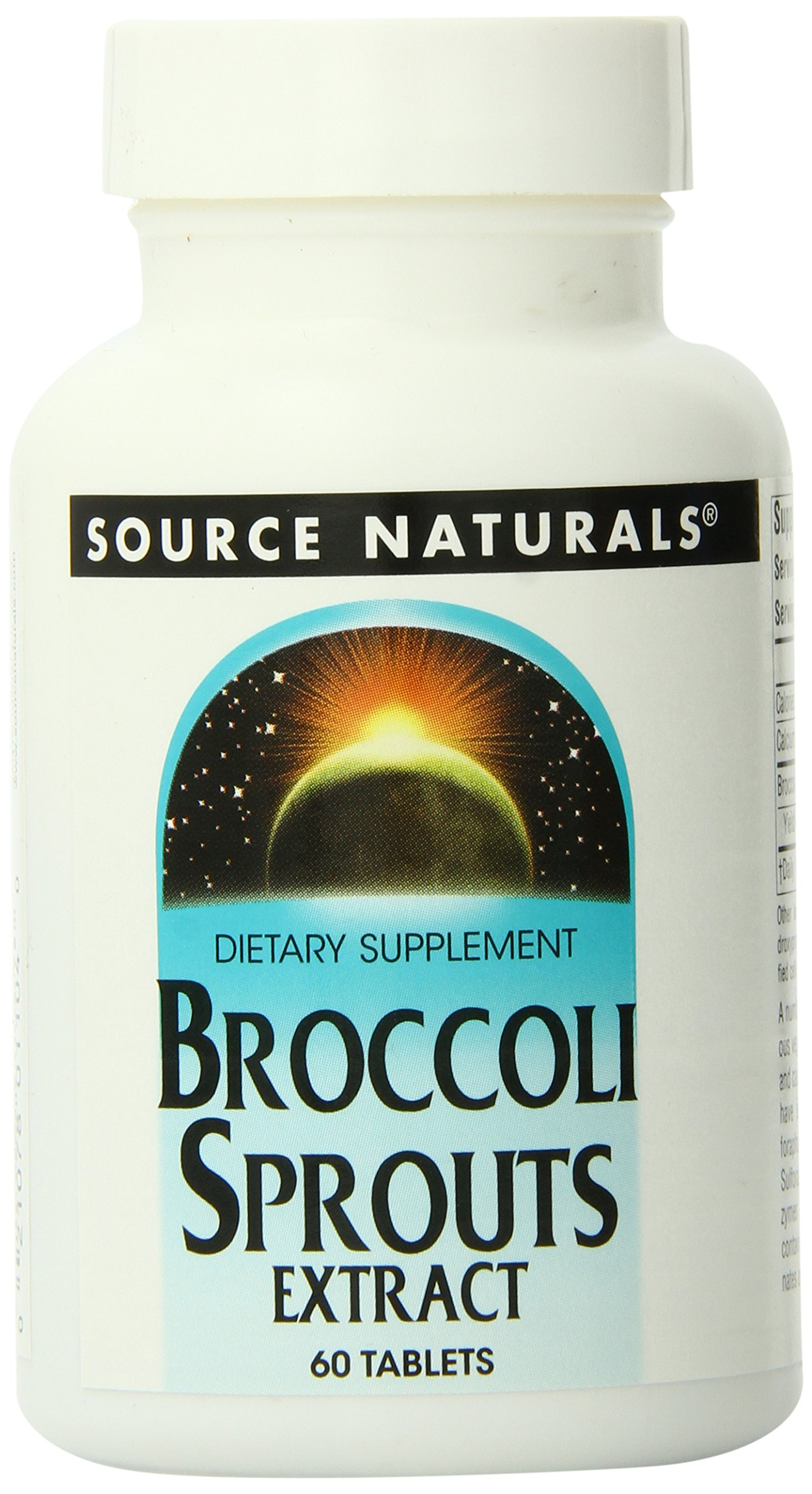 Broccoli Sprouts Standardized Extract Source Naturals, Inc. 60 Tabs