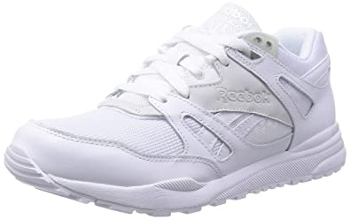 low priced c4fc8 0db6f Reebok Ventilator St, Herren Sneaker Weiß Blanc (White White) 42