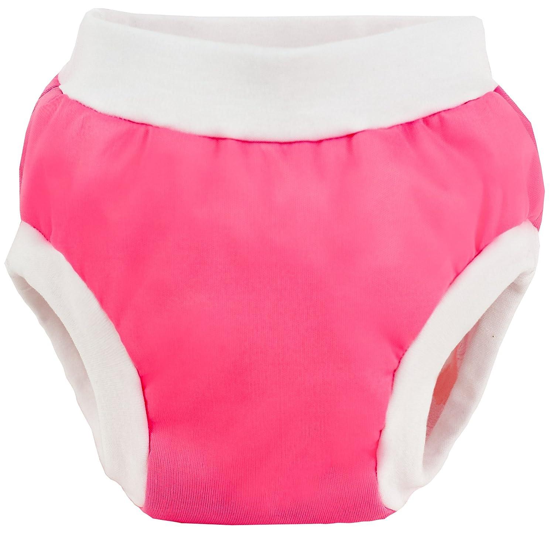 Kushies Baby PUL Training Pant-Pink-Large D1602-18