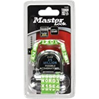 Master Lock 1534D - Candado de combinación (2-5/16 pulgadas)