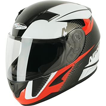 187237L17 - Nitro N2300 Rift Junior Motorcycle Helmet L White Black Red (17)