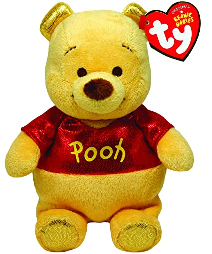 6939a82999bd Amazon.com  Ty Beanie Babies Winnie The Pooh Sparkle Plush  Toys   Games