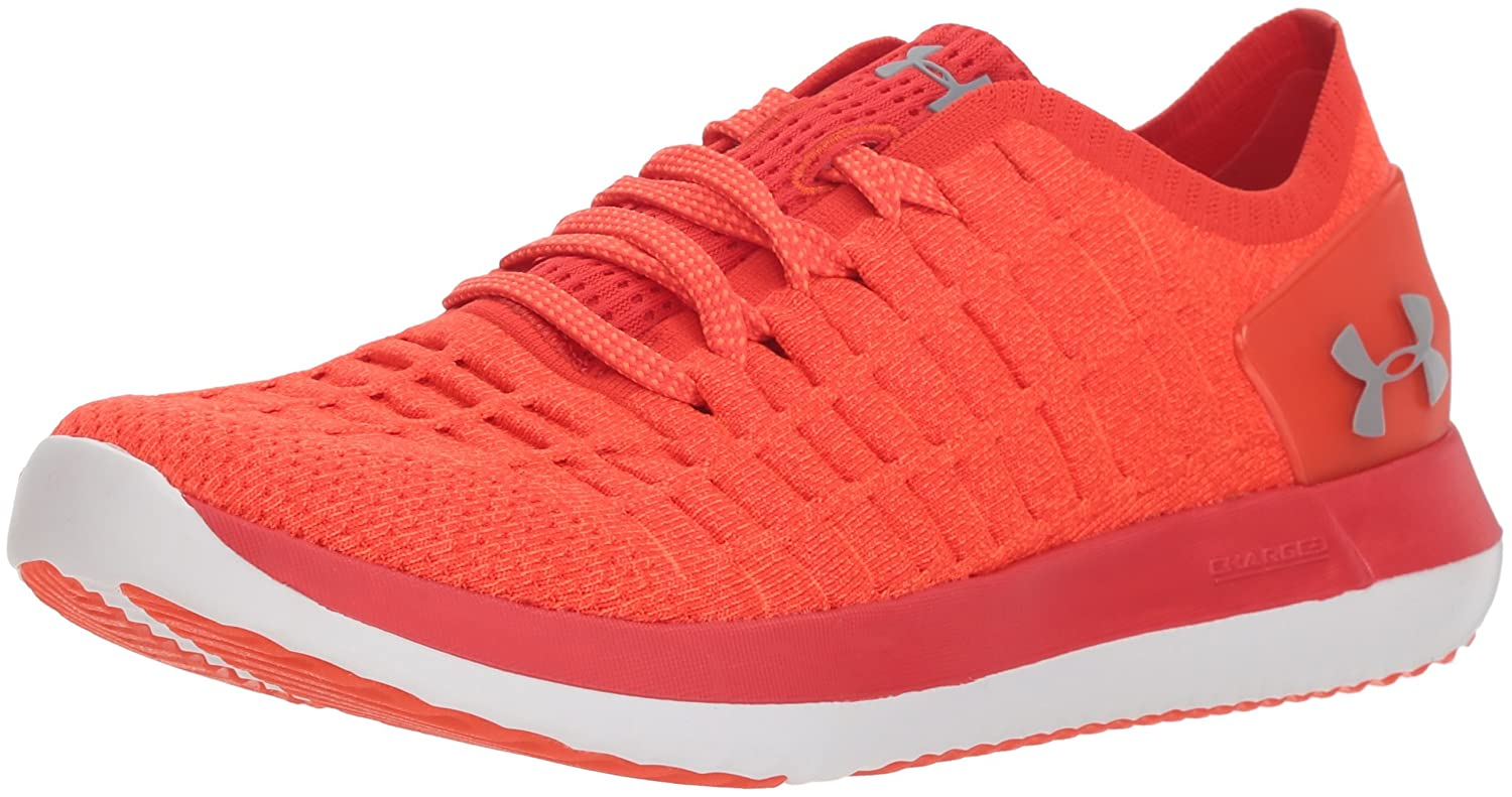 Under Armour Women's Slingride 2 Sneaker B076RT1VWC 12 M US|Radio Red (601)/Radio Red