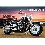 Harleys 2018 Calendrier [moto]