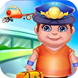 Airport Manager Simulator Kids - Check passport, baggage, airplane and be the pilot with this fun free game!