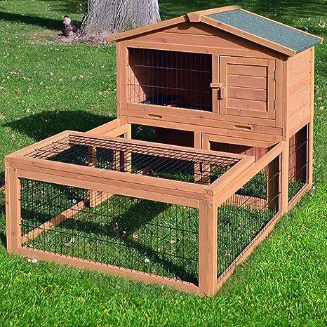 Establo NR 6 Conejos Establo conejeras jaula para conejos Conejo ...