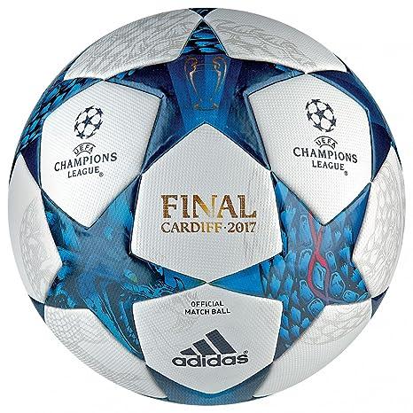 premium selection f962a 053c3 adidas CDF Omb Champions League Cardiff Final 2017, Palla Uomo, Bianco  (Azumis