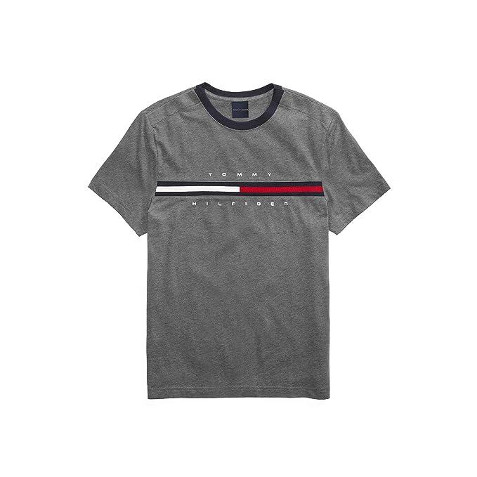 an vorderster Front der Zeit neue Kollektion letzte Auswahl Tommy Hilfiger Men's Adaptive Signature Stripe T-Shirt