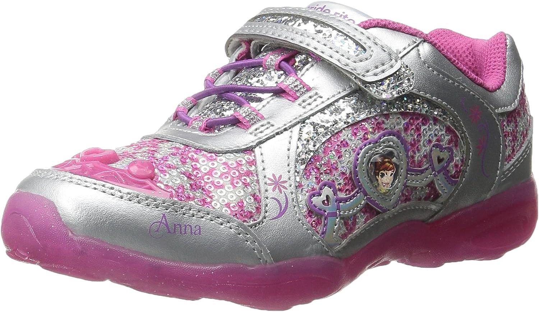 sz 8 Details about  /Girls Stride Rite pink//purple princess light-up tennis shoes Katie