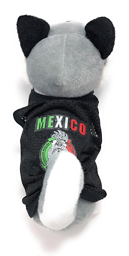 Xell Dog Clothes Mexico World Soccer Pet Tank Jersey Puppy Summer Clothes for Small Dogs-