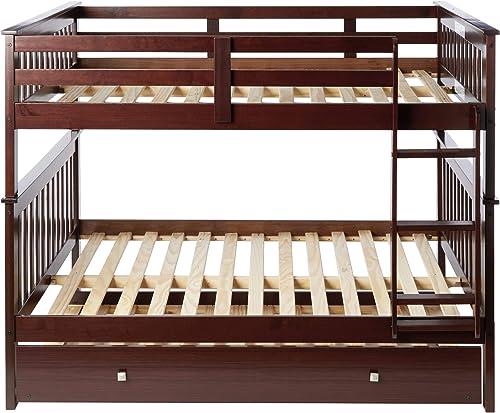 Donco Kids Mission Bunk Bed withTrundle