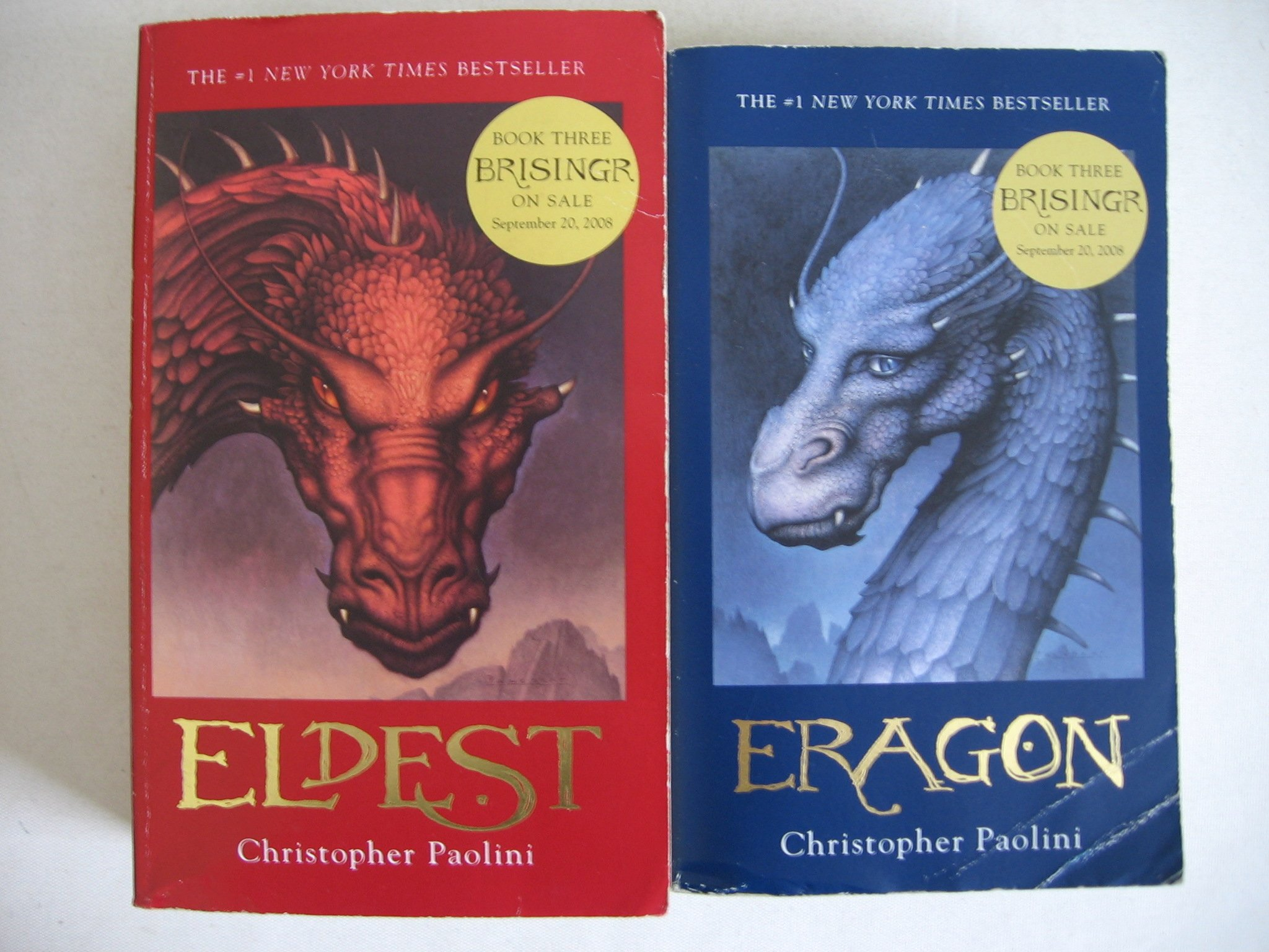 Eragon Eldest Inheritance Cycle No 1 2 Christopher Paolini