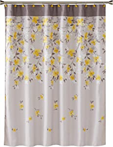 SKL Home by Saturday Knight Ltd. Garden Shower Curtain, Gray