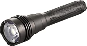 Streamlight ProTac HL5-X with 4 CR123A lithium batteries and wrist lanyard- Box - Black - 3500 Lumens