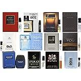 Pilestone Selection: Men's Designer Fragrance Samples - 12ct Cologne Vials