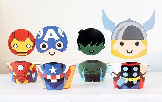 Los Vengadores Thor Capitán América Iron Man Hulk superhéroe ...
