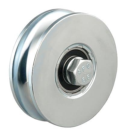 GAH-Alberts 419264 - Rueda para puertas correderas (100 mm, peso máximo: