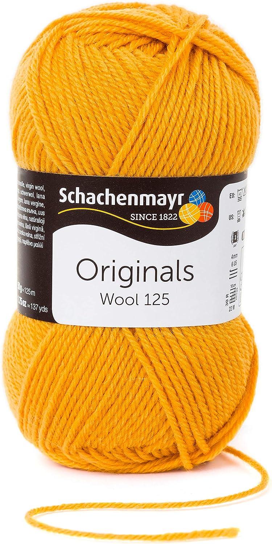 Schachenmayr Hilos para Tejer A Mano Wool 125 50g Marine