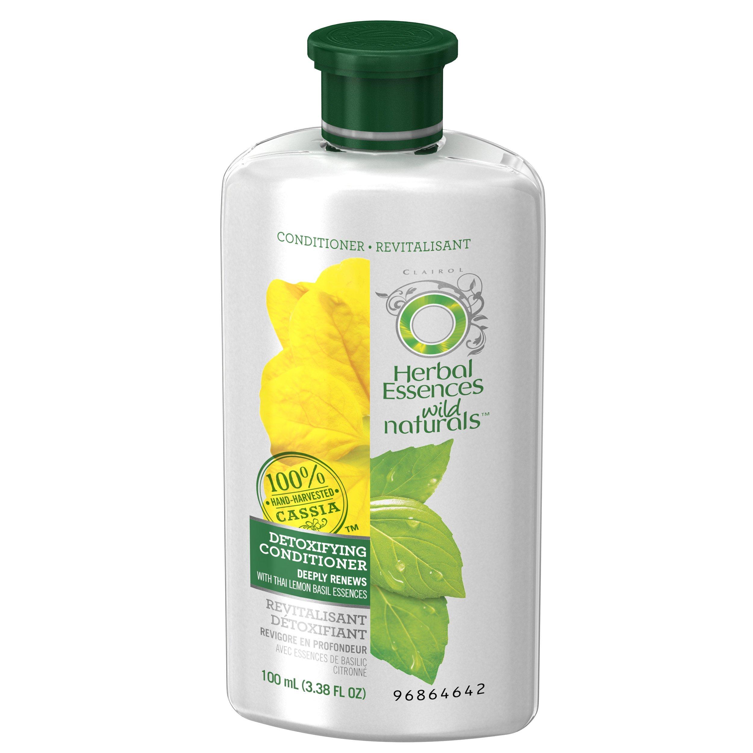 Herbal Essences Wild Naturals Detoxifying Conditioner, 3.38 FL OZ by Herbal Essences (Image #4)