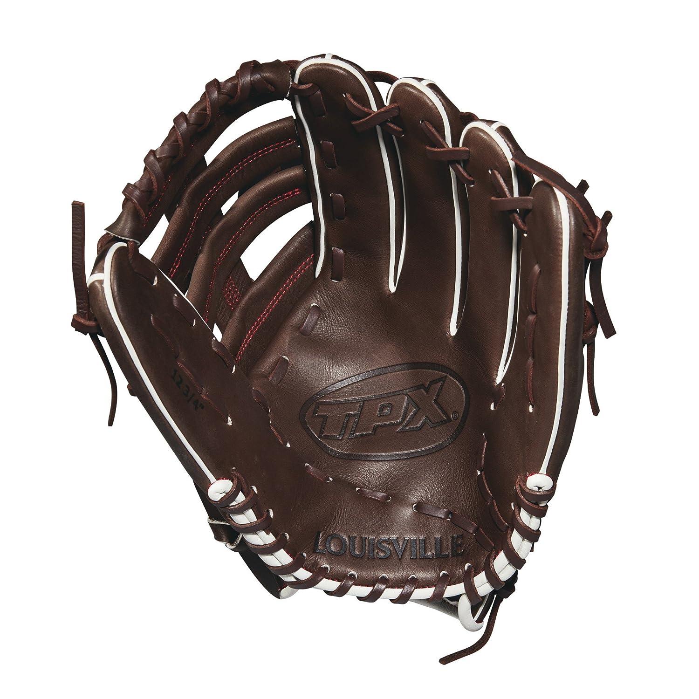 Left Hand Throw Dark Brown//Red 12.75 12.75 Wilson Sporting Goods WTLPXLB181275 Louisville Slugger 2018 Tpx Outfield Baseball Glove