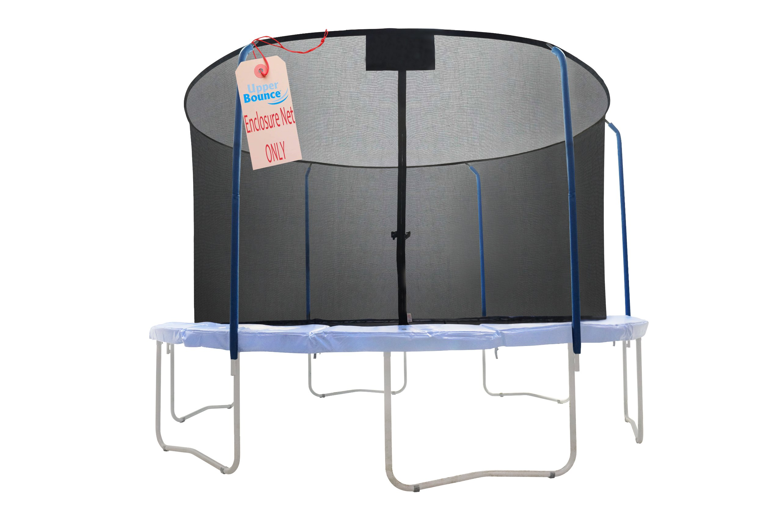 SKYTRIC Trampoline Enclosure Net (Universal) 15 ft Frame: 5 Curved Pole: with Top Ring Enclosure Systems -Sleeve on top Type- by SKYTRIC (Image #2)