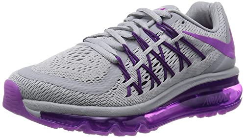 info for 20a85 ded06 Image Unavailable. Image not available for. Colour Nike Womens Air Max  2015 Wolf Grey ...