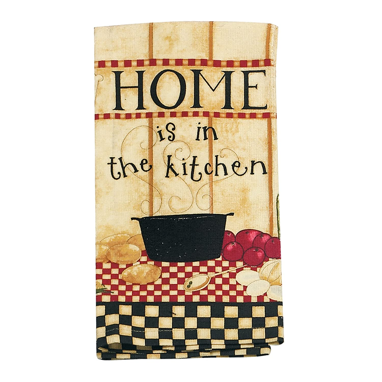 Kay Dee Designs R1270 Home Is In The Kitchen Terry Towel