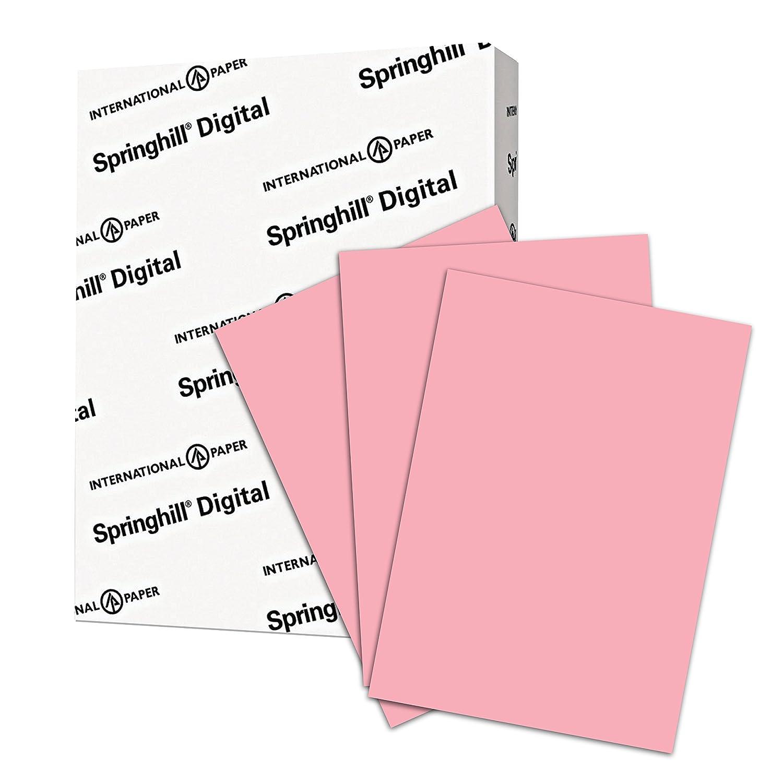 Springhill (, DIGITAL Velin Bristol, 67lb, Ledger, 11 x 17, 92 Bright hergestellt in den USA 1.000 Bögen weiß B06WWRB394   Umweltfreundlich