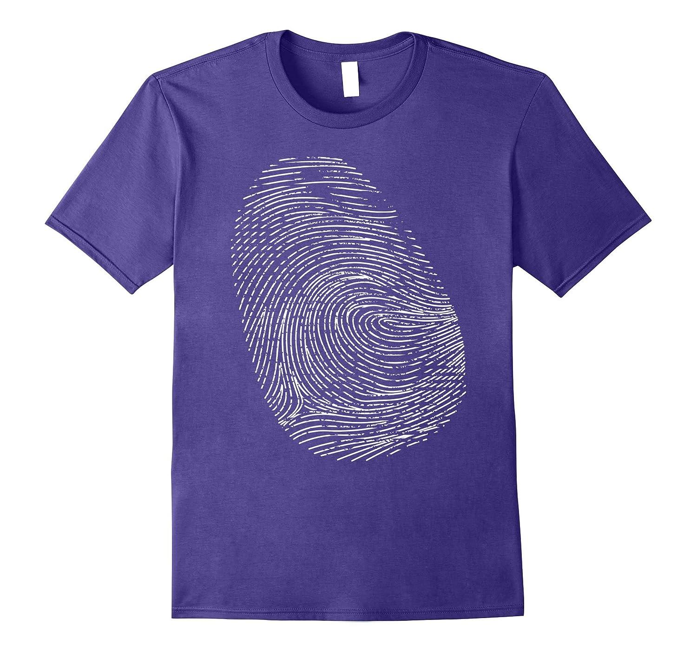 Fingerprint Forensic Science T-Shirt-CD