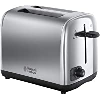 Russell Hobbs Adventure Slice, Brushed and Polished Stainless Steel Toaster