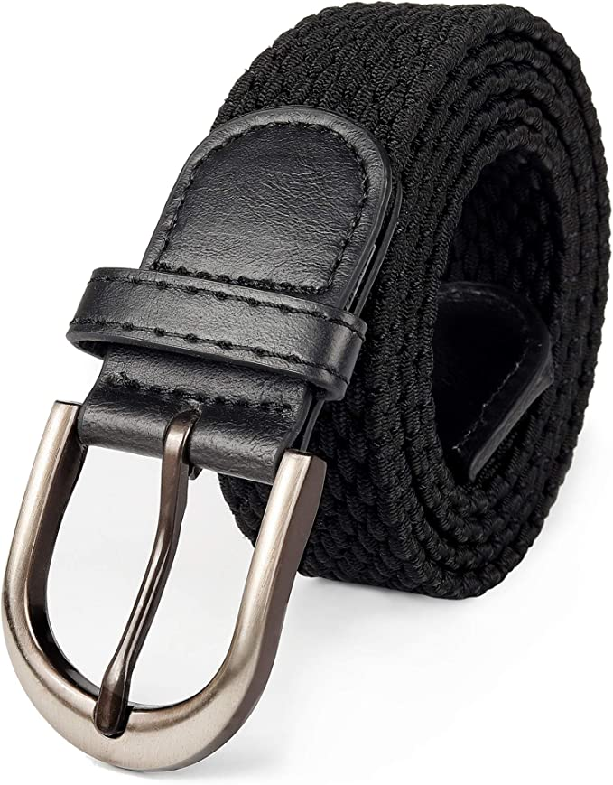 "*6 Colours* Size 40/"" Only 1//2/"" wide Nickle Buckle Genuine Leather Belt"