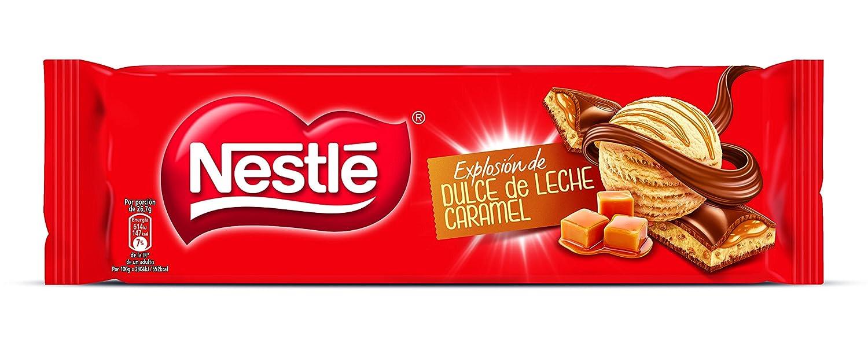 Nestlé Chocolate con leche extrafino relleno de dulce de leche y trozos de cereal tostado - 240 gr: Amazon.es: Alimentación y bebidas