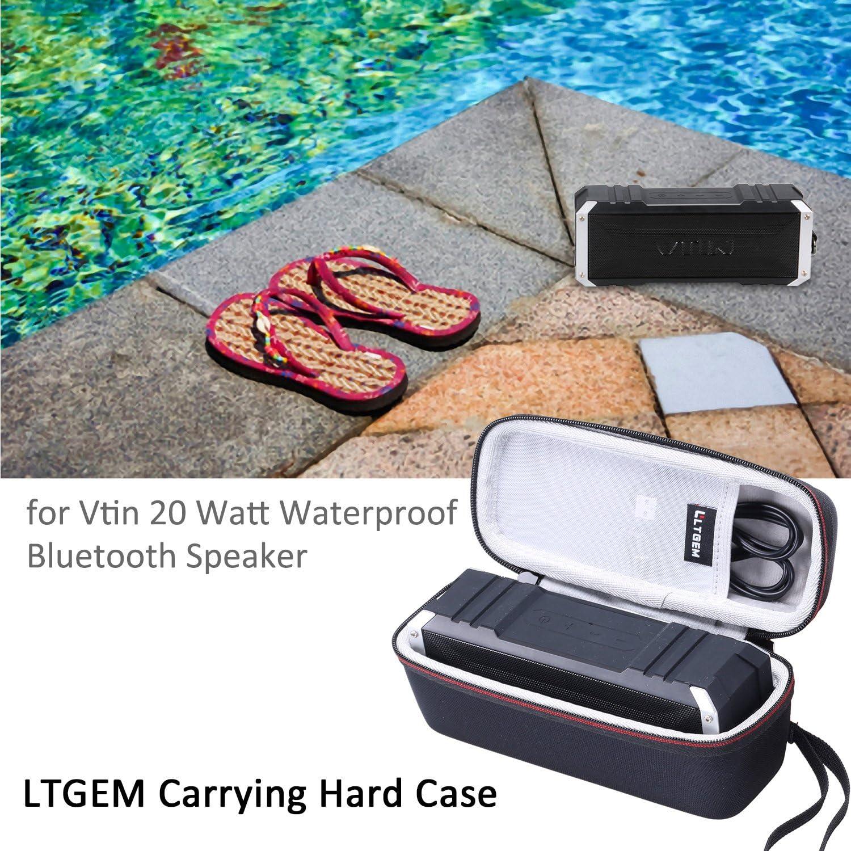 Vanzon X5 Pro Outdoor Bluetooth Speaker LTGEM EVA Hard Case for Vtin R2 Vtin R4 Vtin 20W