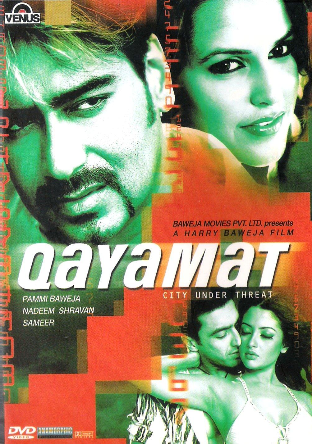 Amazoncom Qayamat Ajay Devgan Sunil Shetty Sanjay Kapoor Isha