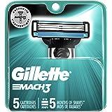 Gillette Mach3 Men's Razor Blades - 5 Refills