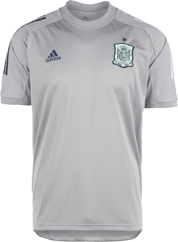 adidas Selección Española Temporada 2020/21 Camiseta Entrenamiento, Unisex, mgh Solid Grey, XXL: Amazon.es: Deportes y aire libre