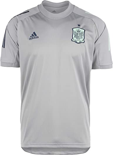 adidas Selección Española Temporada 2020/21 Camiseta Entrenamiento Unisex Adulto: Amazon.es: Deportes y aire libre