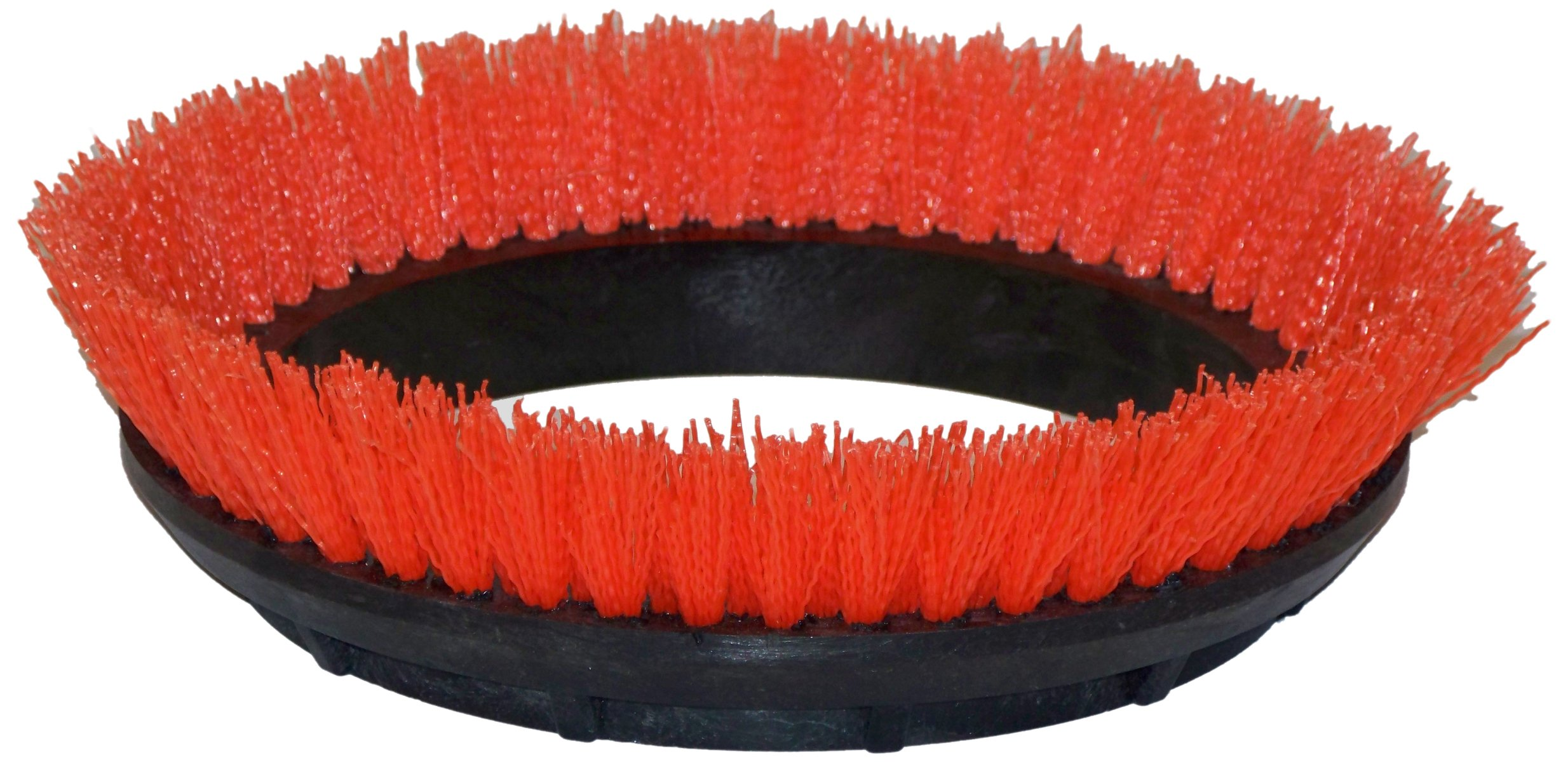 Oreck Commercial 237047 Crimped Polypropylene Scrub Orbiter Brush, 10.5'' Diameter, 0.028'' Bristle Diameter, For ORB550MC Orbiter Floor Machine(Colors may vary) by Oreck Commercial