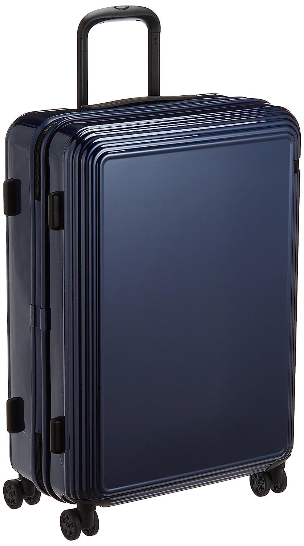 [エース] スーツケース リップルZ ワイヤーコード キャスターストッパー 67L 62cm 4.4kg 06242 B073XF4M5Gネイビー
