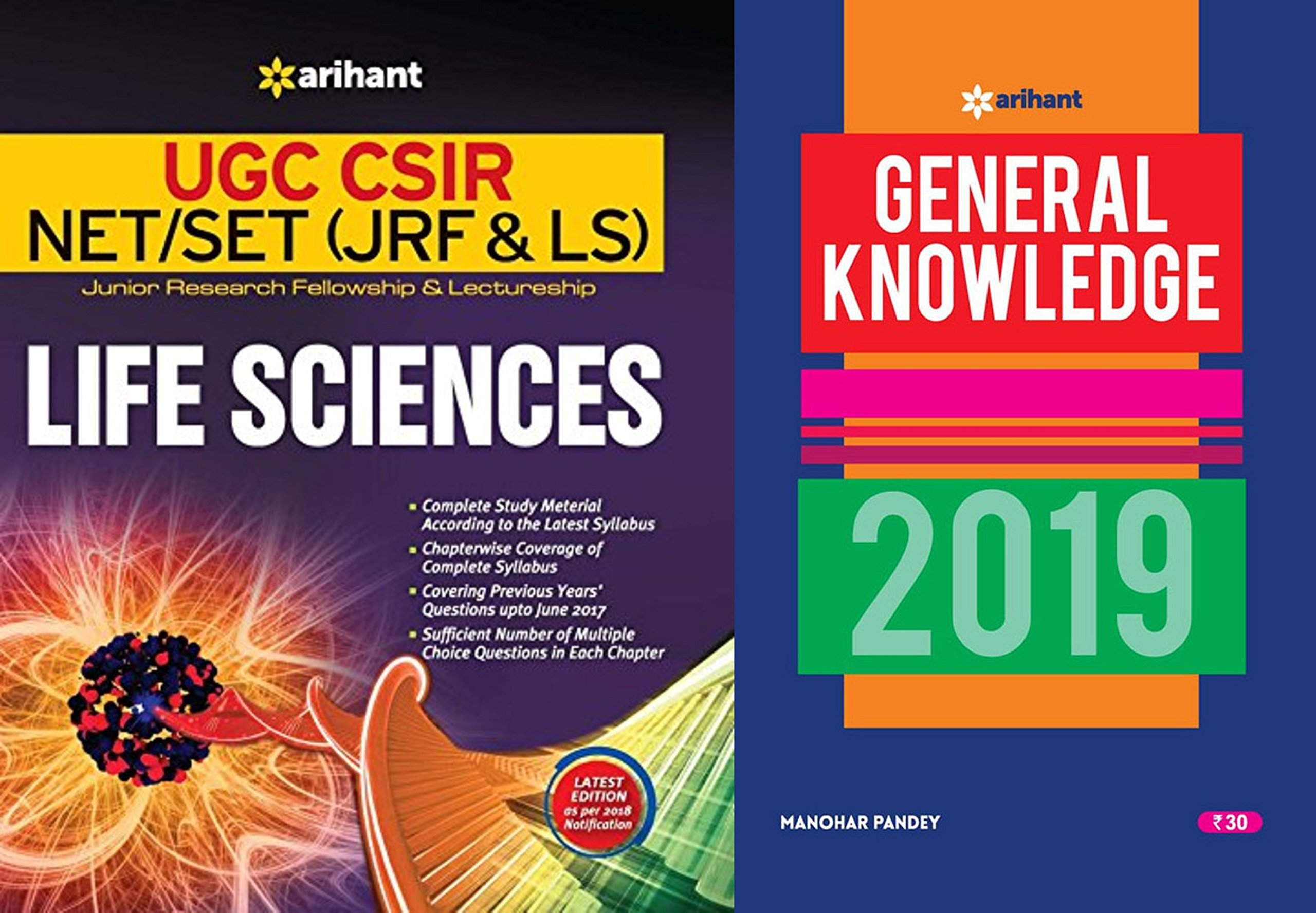 Buy UGC NET Life Science Arihant Latest 2018-2019 Book