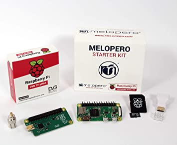 Melopero Raspberry Pi Zero Wh Official Tv Uhat Kit 16gb Amazon Co
