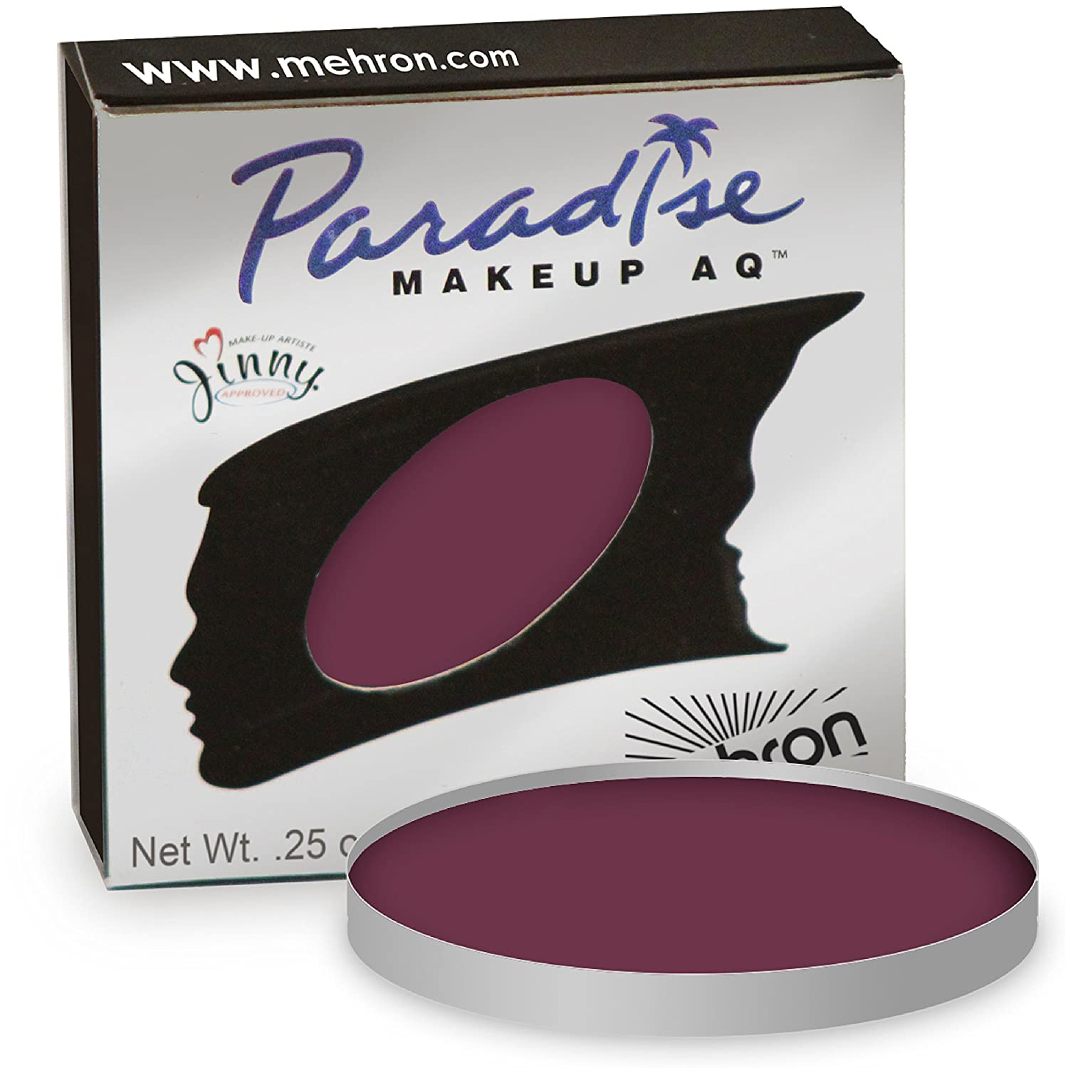 Mehron Paradise Refills - Nuance Porto (Red) PT (0.25 oz) Costumes For All Occasions DD801PT