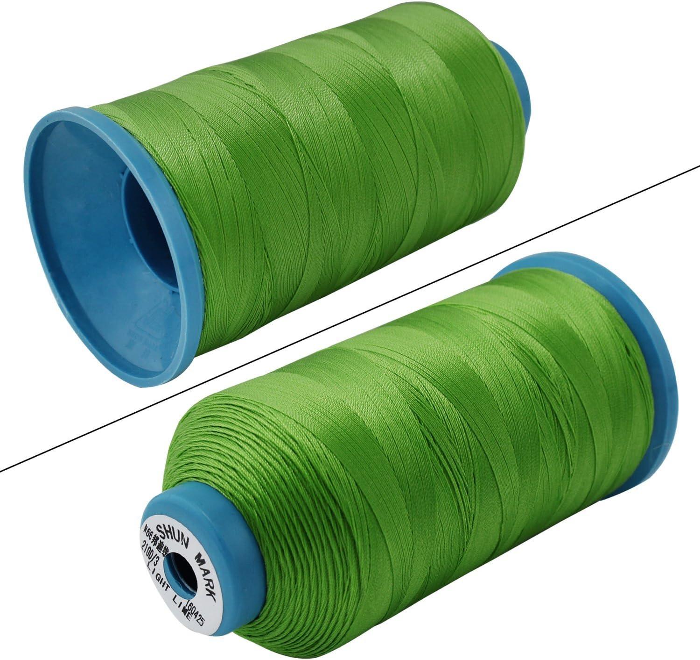 psmg Ecomoods® Bonded Nylon Hilo Strong para máquina de coser mano ...