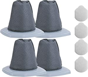 4Pack Replacement Vacuum Filter Compatible with Eureka NES210 NES215A 3-in-1 Swivel Handheld & Stick Vacuum Cleaner,Compare to Part # N0101 (4Pre Filter+4 Post Filter)