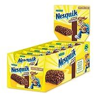 Nesquik Maxichoco Barretta di Cereali Integrali al Cioccolato - Pacco da 24 X 600 G