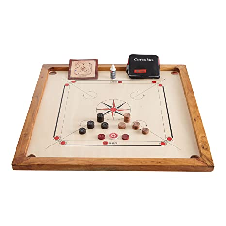 Uber Games Carrom Board and Accessories Set (33
