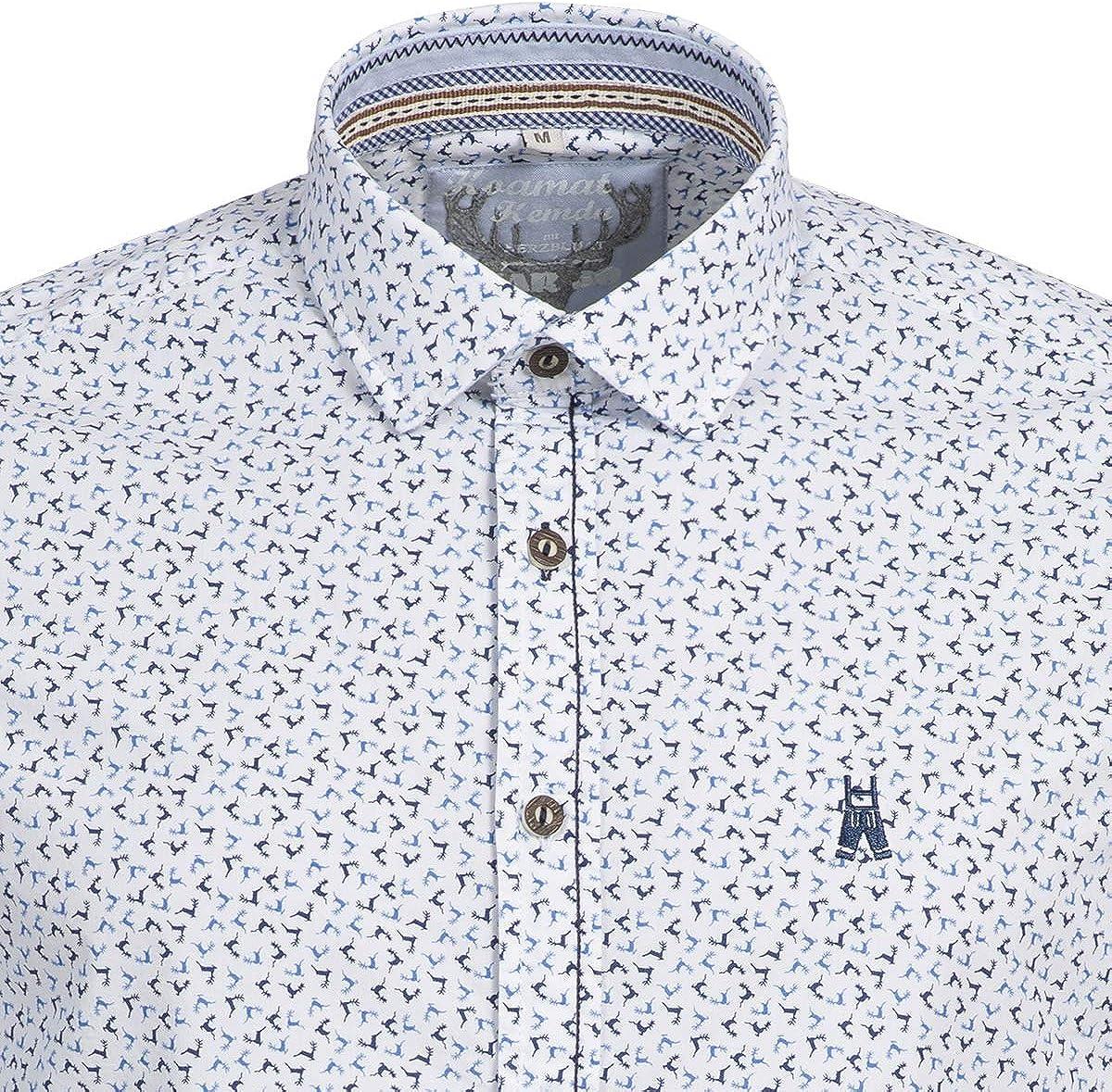 MarJo Fabius - Camisa Tradicional para Traje Regional para Hombre, Color Blanco: Amazon.es: Ropa y accesorios